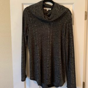 NWT Lola 👑 Grace Gray Turtleneck Sweater Size XL
